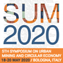 NEW DATE, LOCATION SUM 2020 – 5th Symposium on Urban Mining and Circular Economy   —   POSTPONED to November 18-20, 2020  —   LOCATION CHANGED from Bologna to Venice, Italy