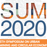 CALL FOR PAPERS SUM 2020 – 5th Symposium on Urban Mining and Circular Economy — November 18-20, 2020 — ONLINE   DEADLINE   September 3, 2020