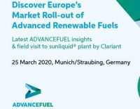 Discover Europe's Market Roll-out of Advanced Renewable Fuels   —   March 25, 2020   —   Munich/Straubing, Germany