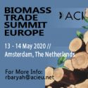 Biomass Trade Summit Europe 2020   —   May 13-14, 2020   —   Amsterdam, Netherlands