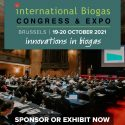 ANOTHER NEW DATE International Biogas Congress & Expo   —   POSTPONED from June 15-16, 2021 to October 19-20, 2021  —   Brussels, Belgium