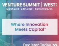 Venture Summit West   —   March 23-24, 2020   —  Santa Clara, CA