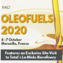 NEW DATE Oleofuels 2020   —   POSTPONED from June 24-25, 2020 to October 6-7, 2020   —    Marseille, France