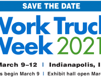 Work Truck Week 2021   —   March 9-12, 2021   —   Indianapolis, IN