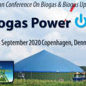 Biogas PowerON 2020   —   September 22-23, 2020   —   Copenhagen, Denmark