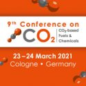 9th Conference on CO2-based Fuels and Chemicals   —   March 23-24, 2021   —   ONLINE and On-Site in Cologne, Germany