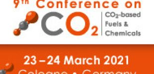 CALL FOR ABSTRACTS AND POSTERS 9th Conference on CO2-based Fuels and Chemicals   —   March 23-24, 2021   —   ONLINE and On-Site in Cologne, Germany    DEADLINES:  November 27, 2020 and January 15, 2021
