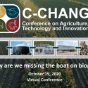 C-CHANGE Conference: Why Are We Missing the Boat on Biogas?  —   October 19, 2020   —   ONLINE