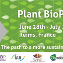 Plant BioProTech   —   June 28 – July 1, 2022   —   Reims, France