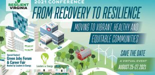 8th Annual Green Jobs Forum with Resilient Virginia   —   August 26, 2021   —   ONLINE