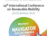 Fuels of the Future 2022 – Navigator for Sustainable Mobility!   —   January 24-25. 2022   —   Berlin, Germany