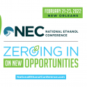 National Ethanol Conference   —   February 21-23,2022   —   New Orleans, LA